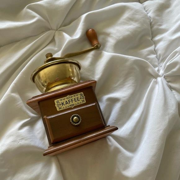 Small vintage coffee grinder